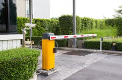 car park barrier, automatic entry system