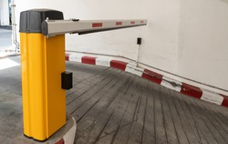car park barrier, automatic entry system of underground parking lot.