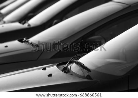 car Parking lot  #668860561