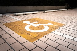 Car parking lot which is reserved for