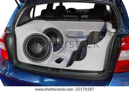 car power music audio system