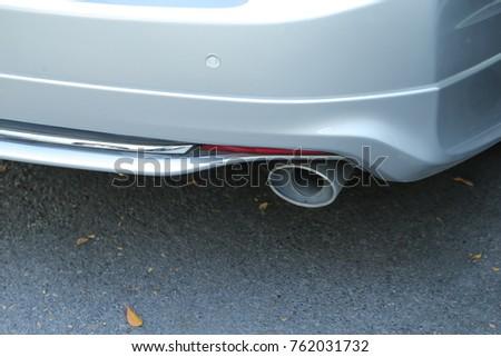 Car's exhaust pipe design