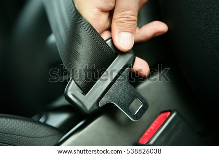 Car seat belt/safe
