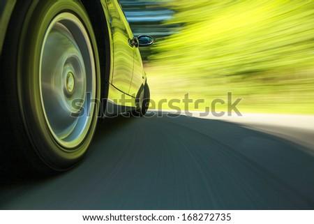 Car speeding. #168272735