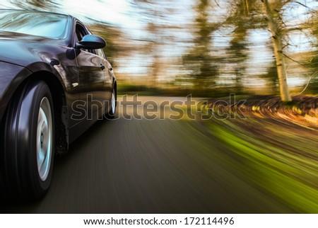 Car speeding. #172114496