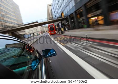 Car speeding #367446062