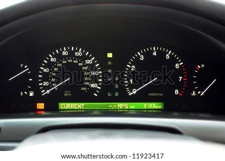 Car Speedo Dash Display