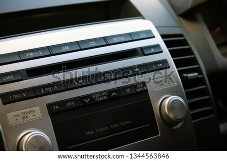 Car stereo unit