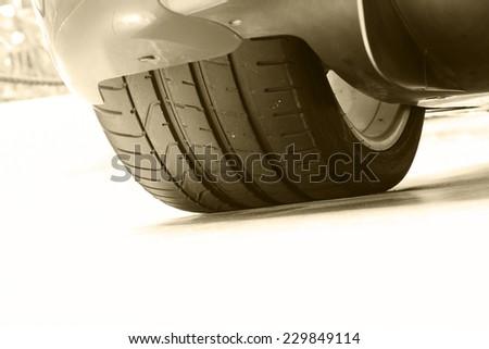 car tire #229849114