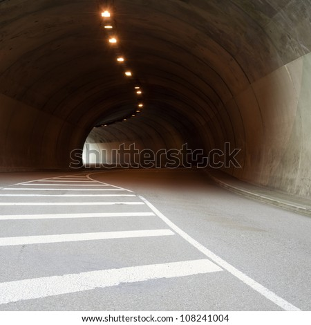 car tunnel