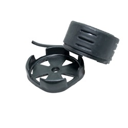 Car Tweeter Doom Stereo Tweeter 1.5-inch 240 Watts Max Dome Tweeters with Mounting Kit Angle, Black, Surface