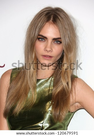 Cara Delevingne arriving for The British Fashion Awards 2012 held at The Savoy London 27 11 2012 Picture by Henry Harris