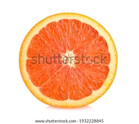 Caracara Orange isolated on white background Foto stock ©