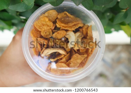 caramel cornflake or cornflake and almond in the box #1200766543