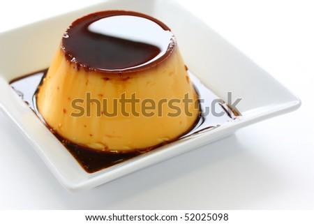 Caramel custard,Custard pudding,Flan