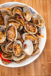 carapace Cooking, Thai seafood kitchen, attractive color looks delicious