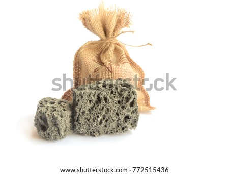 Shutterstock Carbon dulce or Sweet coal candy, tipical Christmas sweet in Spain.Isolated image.Copy space.