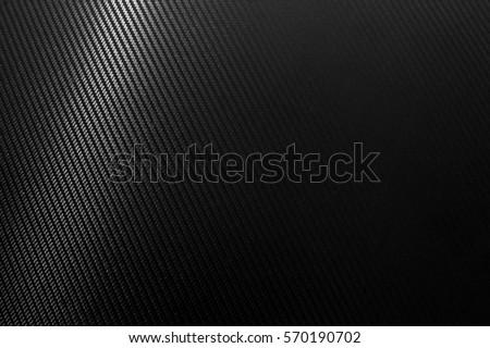 Carbon fiber texture background with left light