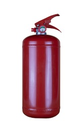 Carbon fire extinguisher, a means of combating the spread of fire.
