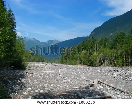Carbon River Bed