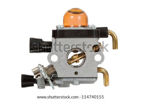 Carburetor - part of the fuel system of gasoline internal combustion engine