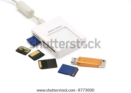 card-reader on a white background.