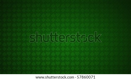 Card suits and poker. Green texture background