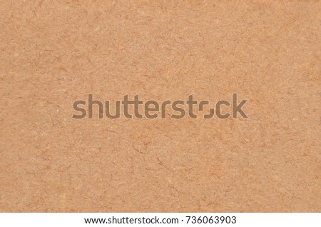 Cardboard background from old processing trash paper #736063903