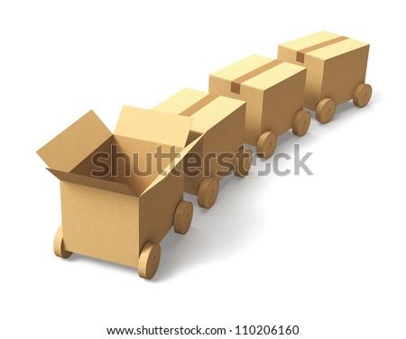 cardboard box vehicle