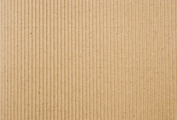 cardboard corrugated pattern background, vertical