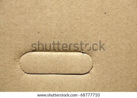 Cardboard Handle