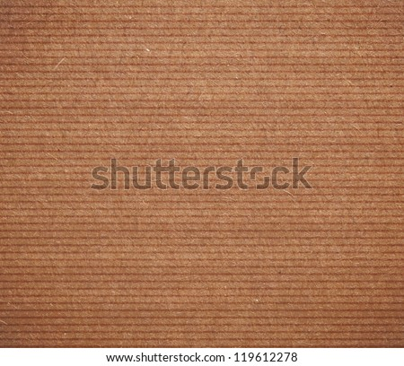 Cardboard lined surface for the background
