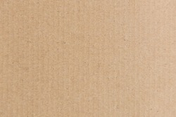 Cardboard texture can be used for background.