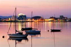 Cardiff Bay, Wales, U.K.