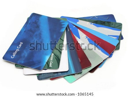 cards found in a wallet