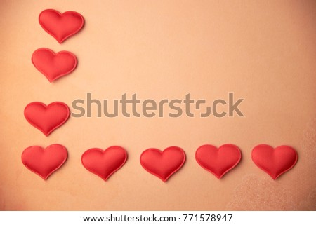 cards Valentines with hearts #771578947