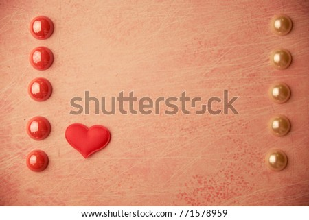 cards Valentines with hearts #771578959