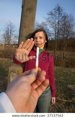 Care for a smoke? No thanks!