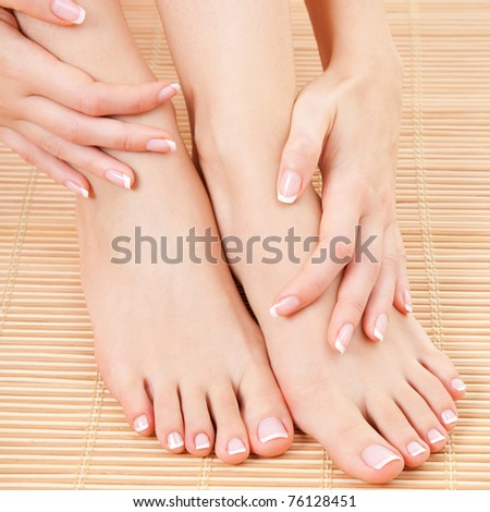care for beautiful woman legs