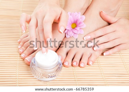 care for beautiful woman skin