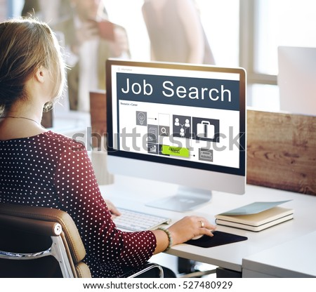 Career Occupations Recruitment Job Search Concept