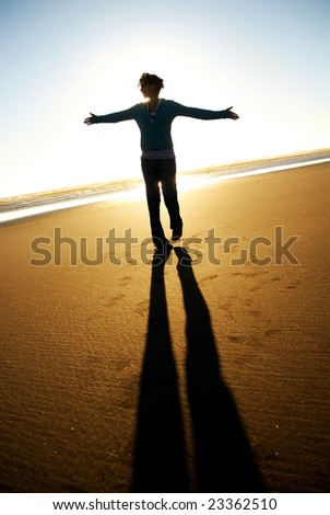 Carefree - stock photo
