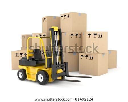 Cargo and shipping - stock photo