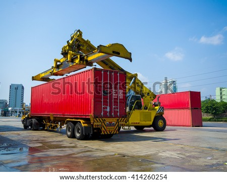 Cargo Containers Cargo capacity is up to ships.