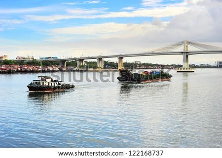 Cargo transportation in Cebu, Philippines
