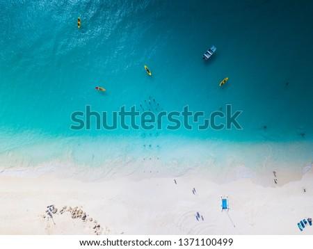 Caribbean aerial shots