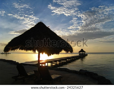 Caribbean Beach Sunrise