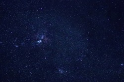 Carina Nebula in New Zealand sky