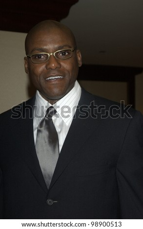 CARL LEWIS at the 56th Annual Directors Guild Awards in Century City, Los Angeles, CA.  February 7, 2004 - stock photo