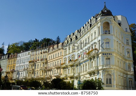 Carlsbad (Karlovy Vary) is the biggest spa town in the Czech Republic and was founded in 1358 by Charles IV, Czech king and Emperor of the Holy Roman Empire.